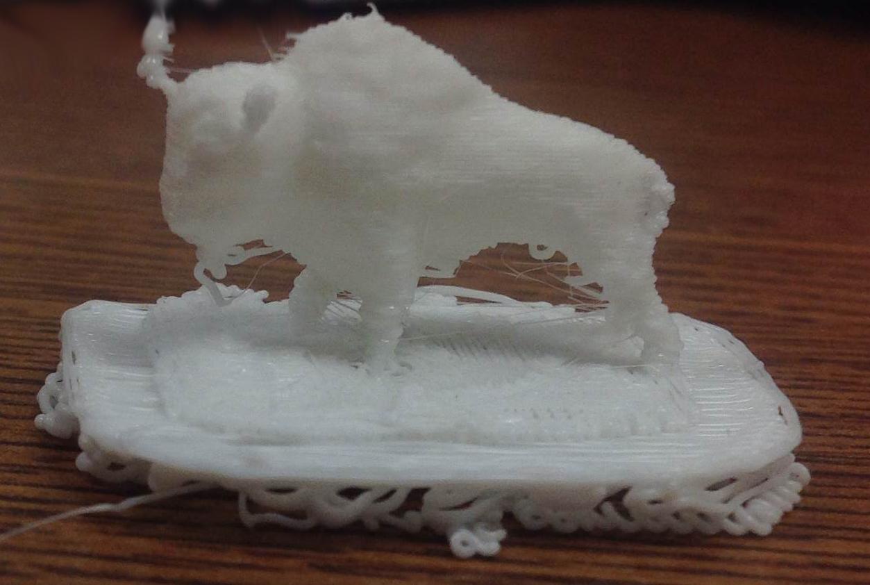 3D Buffalo