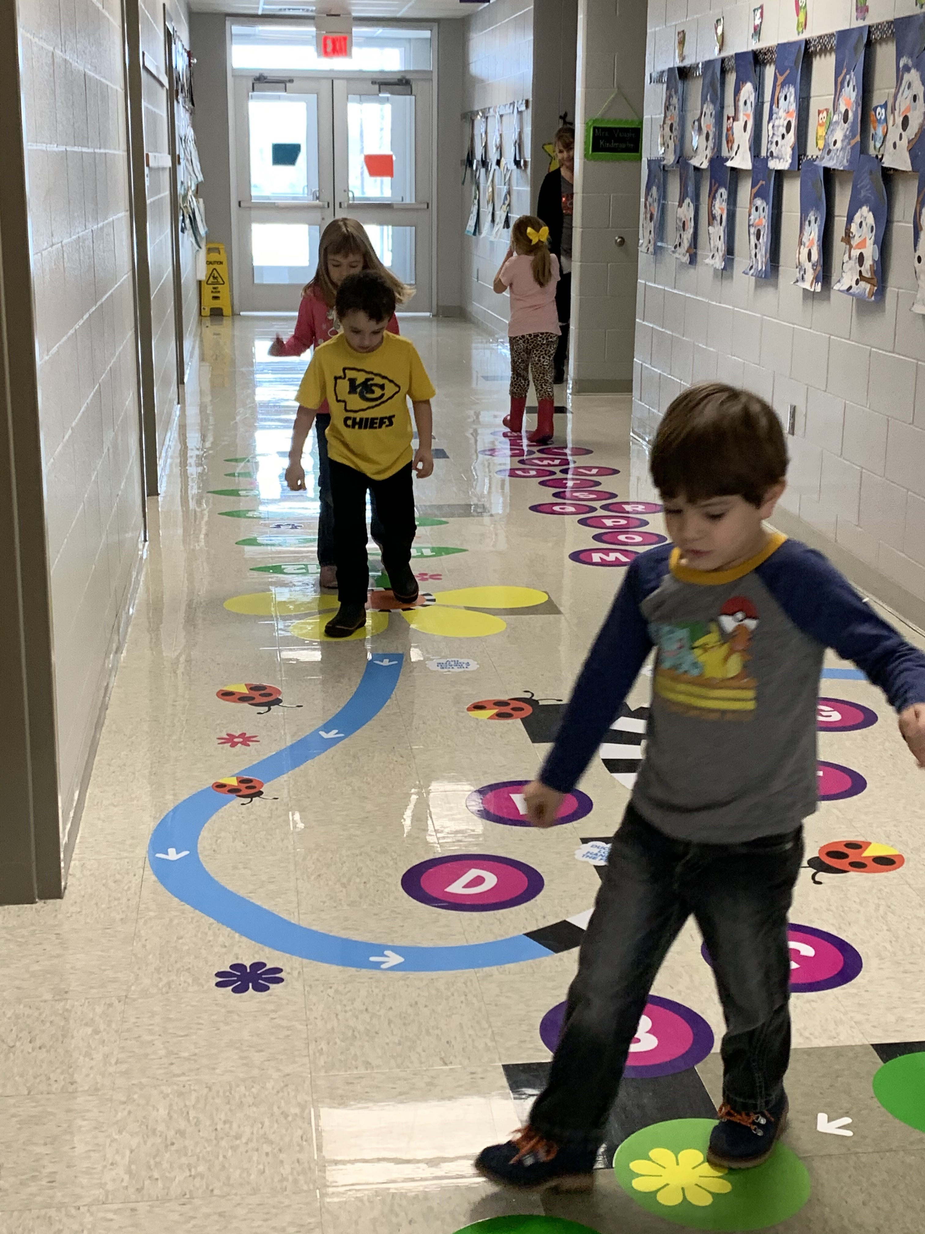 Sensory Walk at La Cygne Elementary